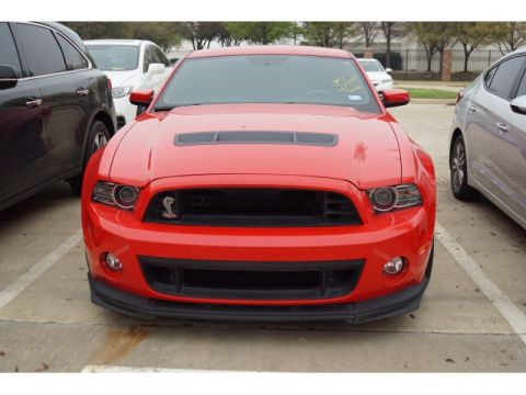 Pre-Owned 2014 Ford Mustang Shelby GT500